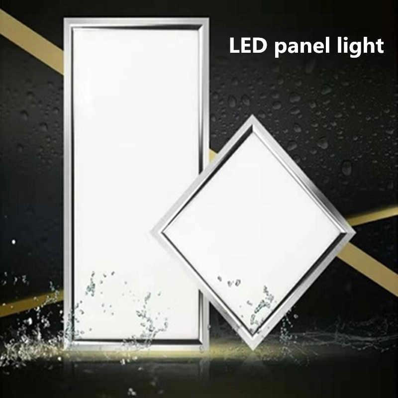 APP Controle inteligente CONDUZIU a Luz Do Painel de Teto Lâmpada Do Teto À Prova de Poeira Inteligente Para Casa 30*30 CM/30*60 CM/60*60 CM Para Cozinha Casa de Banho