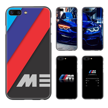 Germany M BMW Sports Car Phone Case Cover Hull For iphone 5 5s se 2 6 6s 7 8 plus X XS XR 11 PRO MAX black cover tpu cell cover image