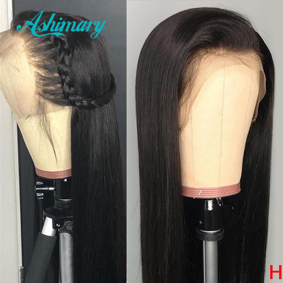 360 Lace Frontal Wig Remy Brazilian Straight Human Hair Wigs Pre Plucked With Baby Hair 13x4/360 Lace Wigs For Black Women 150%