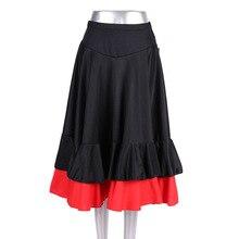 Женская юбка квадратное платье для танцев biao yan qun Joint