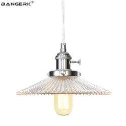 Nordic projekt LED światła wiszące Loft Decor nowoczesna lampa wisząca żelaza szkło ustawić przełącznik jadalnia oświetlenie domu Droplight