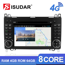 Isudar H53 4G Android 2 Din Auto Radio For Mercedes/Benz/Sprinter/W169/B200/B class Car Multimedia GPS 8 Core RAM 4G ROM 64G DVR