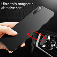 Ultra-Dunne Magnetische Matte Pc Telefoon Case Voor Xiaomi Mi 10 9 8 T Lite Se F1 Redmi Note 8 7 6 5 Pro Shockproof Cover