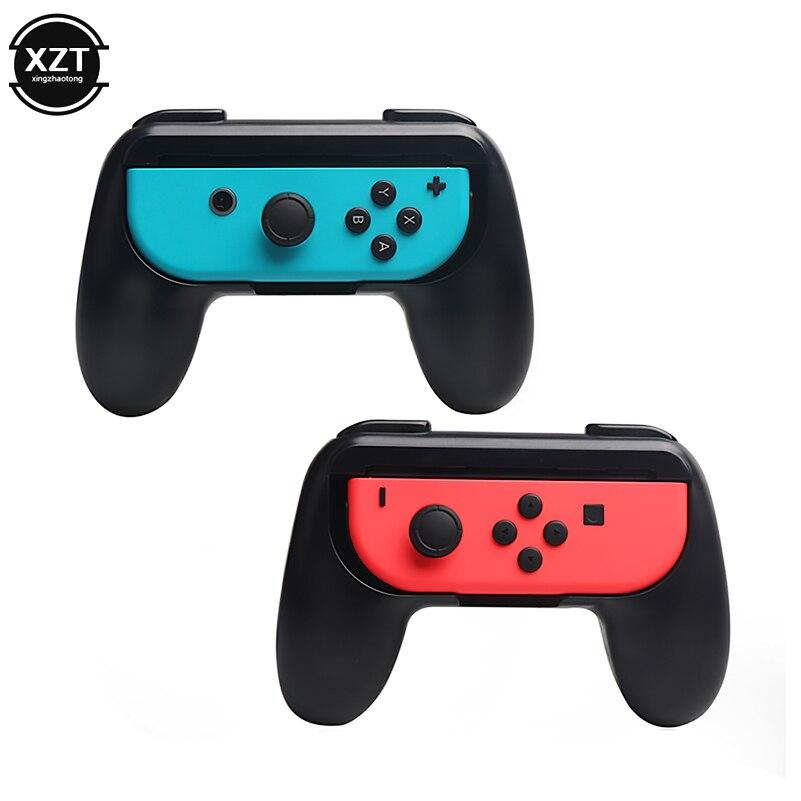 2 шт./компл. для контроллера Nintendo, рукоятка джойстика ABS, рукоятка геймпада, джойстик, подставка, держатель, игровой коврик для держателя пере...