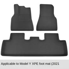 Completo cercado especial pé almofada tapetes capa impermeável antiderrapante tpe xpe modificado para tesla modelo y 2019-2021