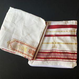 Image 3 - Żydowski Tallit Burgandy i złota modlitwa szal Talit i Talis torba modlitewne szaliki Tallits