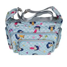 women crossbody bag waterproof nylon printed shoulder ladies messenger bags