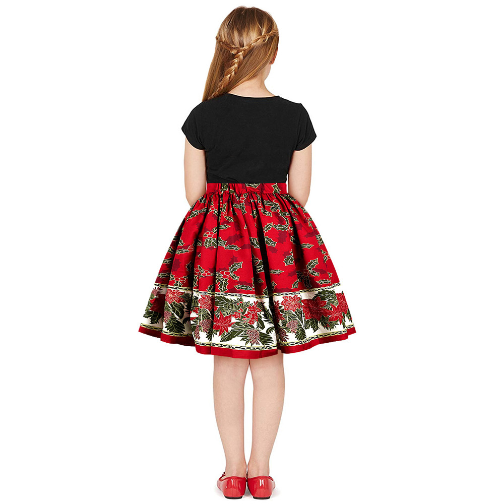 Christmas Girls Dress Teens Girls Party Dresses For Girls Family Matching Outfits New Year Mom Daughter Dresses Carnival Dress (10)