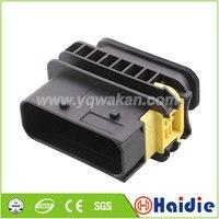 Envío gratis 2 juegos de conector de arnés de cableado para montaje de coche de 18 pines 1-1564412-1