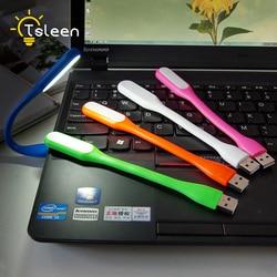 Mini Draagbare 5V 1.2W Super Heldere Boek Licht Goedkope Flexibele Lamp Voor Laptop Bank Voor Power Pc Computer laptop Night Verlichting