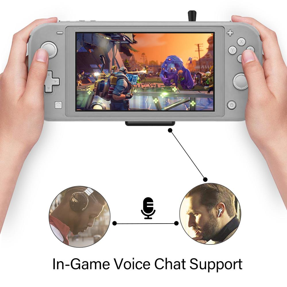 lowest price Gulikit NS07 Route Air Pro Bluetooth Audio Type-C Transmitter Supports In-game Voice Chat for Nintendo Switch amp Switch Lite