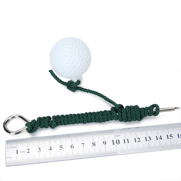 Golf Swing Training Aid Posture Corrective Guide + Golf Driving Rope Ball