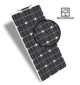 Everything Is Solar™ New Flexible Solar Panel 100W 18V Kit