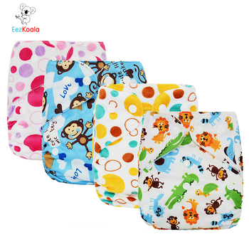 EezKoala Sale One Size Fast Dry Suede Cloth Pocket Diaper ECO-friendly Baby Washable Cloth Diaper Adjustable Baby Insert Nappys