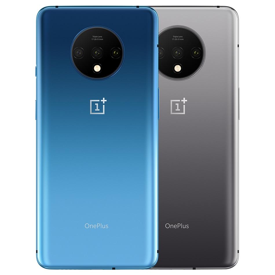 He825cc91c0734993b13ac8a02c580b5bH OnePlus 7T Global Version 8GB 128GB Snapdragon 855 Plus Octa Core 48MP Triple Cameras 90Hz Fulid AMOLED 3800 mAh UFS 3.0 NFC