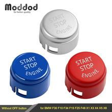 Engine Start Stop Switch Cover for BMW F30 F10 F33 F15 F25 F48 X1 X3 X4 X5 X6 Without Off Button Replace Cap cheap Moddod 0inch Button Switch Start Stop Engine Button Cover 0 05kg for BMW F30 F10 F34 F15 F25 F48 X1 X3 X4 X5 X6 100 New good quality and durable
