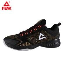 PEAK Mens Basketball Shoes Ultra Light Male Damping Sports Wearable Sneakers Men EW7207A
