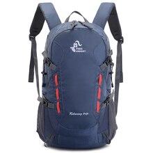Рюкзак 40л для кемпинга и походов, водонепроницаемый спортивный рюкзак для активного отдыха, путешествий, альпинизма, тактические сумки для скалолазания