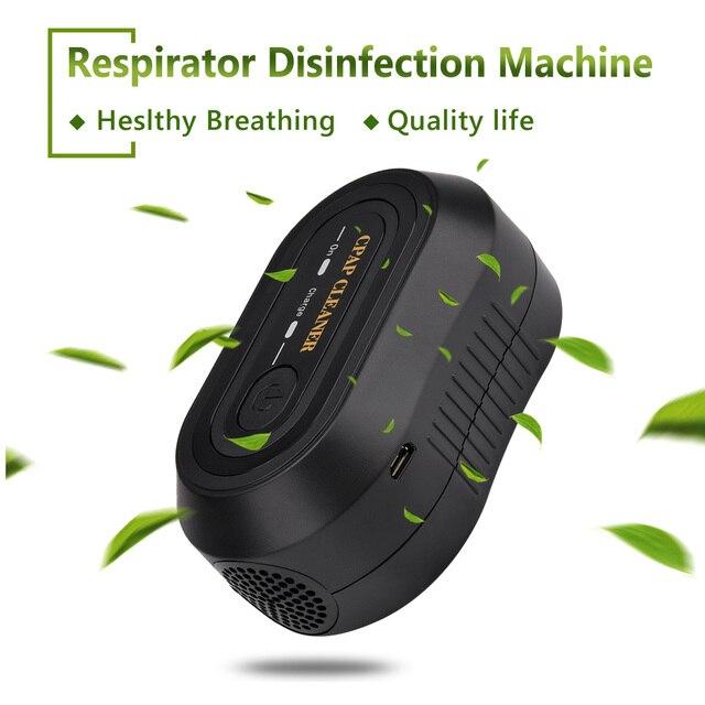 Portable CPAP Ozone Cleaner Ventilator Machine Sanitizer Disinfector Sleep Aid Breathing Auto Air Purifier Respirator Breathing 6