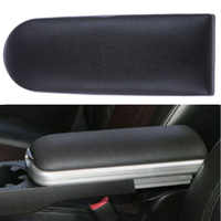 New Car PU Leather Rapid Center Console Armrest Lid Cover Arm Rest Box Lid Covers For Skoda Octavia Fabia Roomster 1997-2018