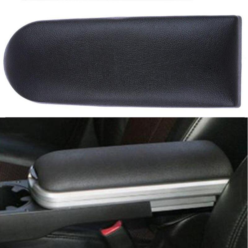 Novo carro de couro do plutônio rápido center console braço tampa capa resto caixa tampa tampas para skoda octavia fabia roomster 1997-2018
