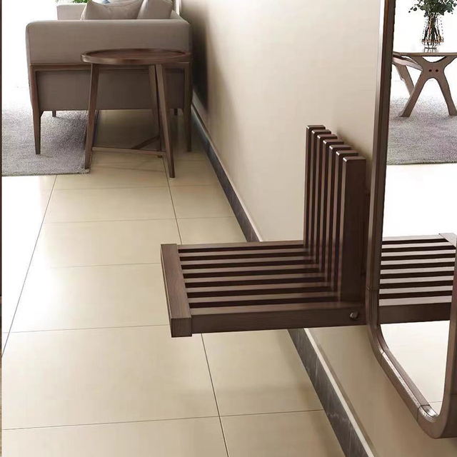 Wall Hanging Folding Stool Porch Chair  3