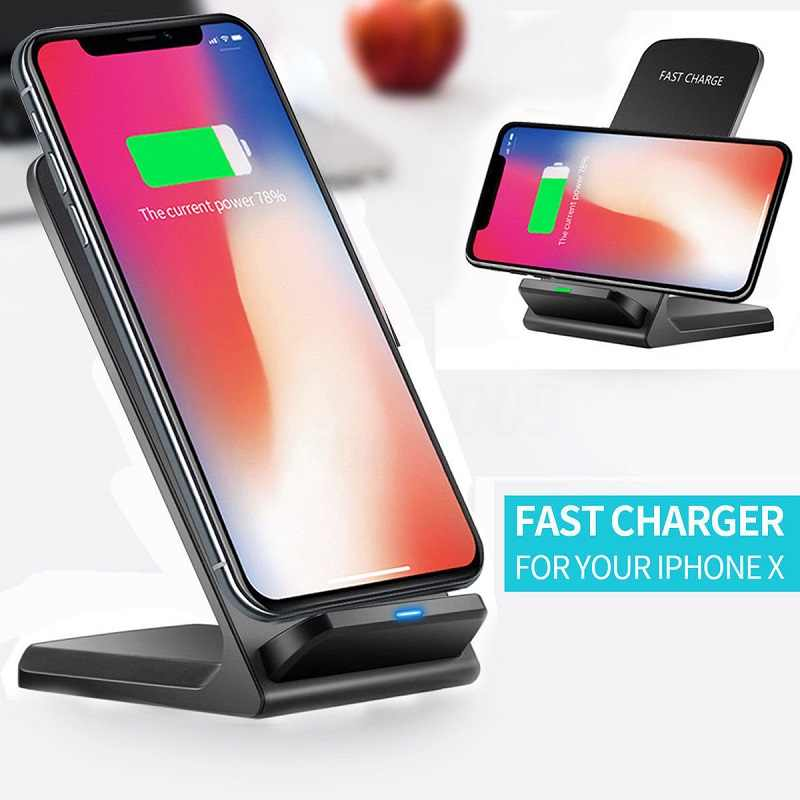 Qi Draadloze Oplader Voor Samsung Galaxy A80 A70 A60 A50 A40 A30 A20e A20 Snelle Draadloze Charging Dock USB Charger telefoon Accessoire