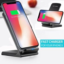 Qi Wireless Charger+Type-C Receive connector for BLACKVIEW BV9600/ BV5500 PRO Fast Charging Dock Stand Desk Phone Accessories(China)