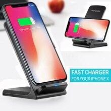 Qi kablosuz şarj BLACKVIEW BV9500 artı hızlı kablosuz şarj standı USB şarj aleti telefonu aksesuarları