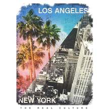 Patchs Ny Et Photos Rayure Vêtements Autocollants T-Shirt Bricolage Lavable Écologique Autocollants Patch Fer Sur T-Shirt Jeans