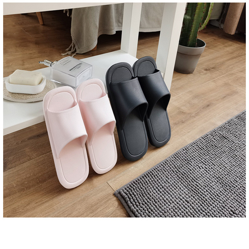 Men Bathroom Sleeper PointedToe Couple Slides Outing Beach Summer Cool Flat Shoes Casual Family Candy Shoes Zapatos Mujer