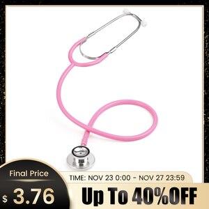 Image 1 - Profesjonalny stetoskop dwugłowicowy lekarz pielęgniarka podwójna głowica stetoskop kardiologia sprzęt medyczny Student Vet urządzenie medyczne