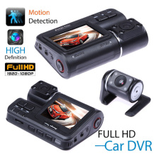 HD Dual Lens 2 Car DVR Dash Cam Vehicle Rearview Camera Video Recorder G-Sensor Car DVR Camera Dash Cam 1080P vehemo new xgody 3 inch hd car vehicle dvr dash camera recorder cam g sensor black