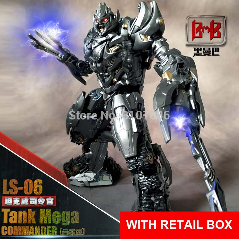 NEW.Transformers Magnified Alloy Edition LS06S Ruin Edition Tank Commander Toy