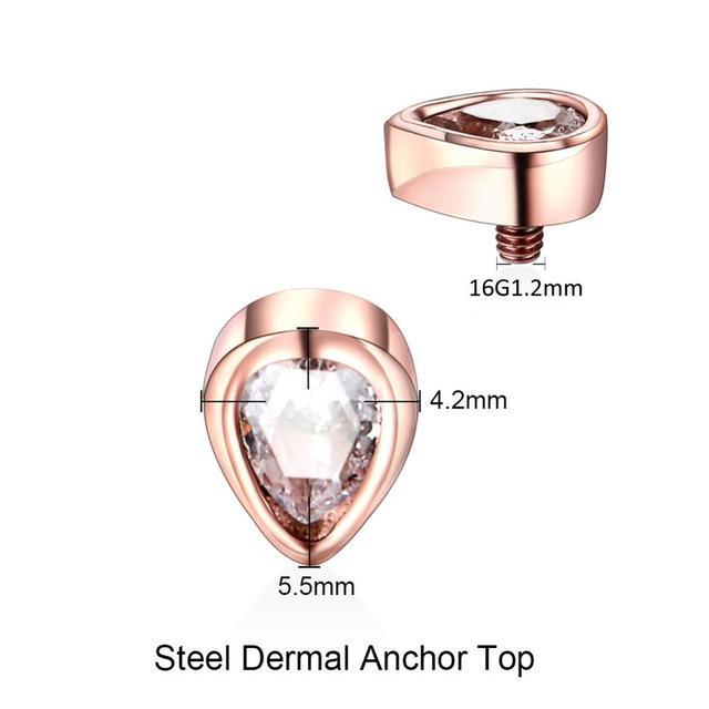Stainless Steel Dermal Top...