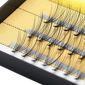 Image 5 - Kimcci profesyonel kirpik uzatma doğal el yapımı 10D vizon makyaj bireysel küme göz Lashes aşılama yanlış kirpik