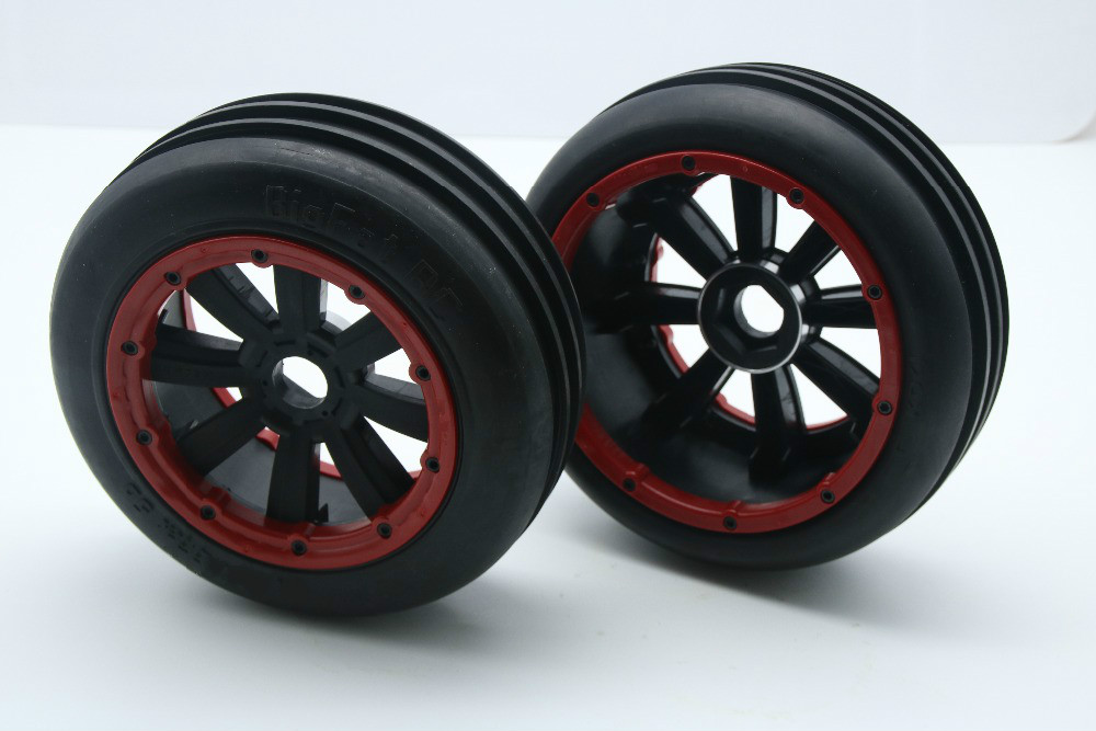 New Twin Blade Tyre Wheel Set for 1/5 Baja 5b HPI Madmax KM ROVAN 5b Ss