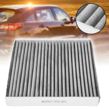 For Honda 1pc Carbon Fiber Cabin Air Filter 80292-TF0-G01 CU21003 Universal Civic HR-V Insight Fit CR-Z