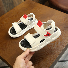 PandaQ Kids Shoes for Boys Girls Casual Sandals Jelly Girl Melissa Toddler Heels Hook & Loop Loafers Summer Korea Styles
