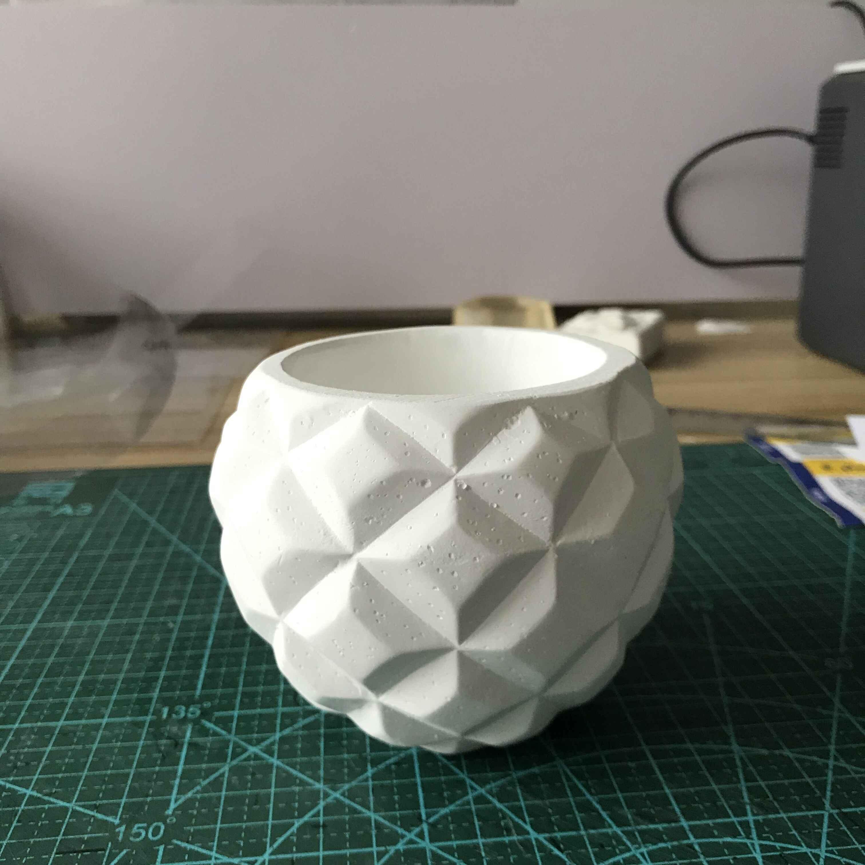 Make A 3D Paper Quilled Flower Pot | Rainbow Cabin | 3024x3024