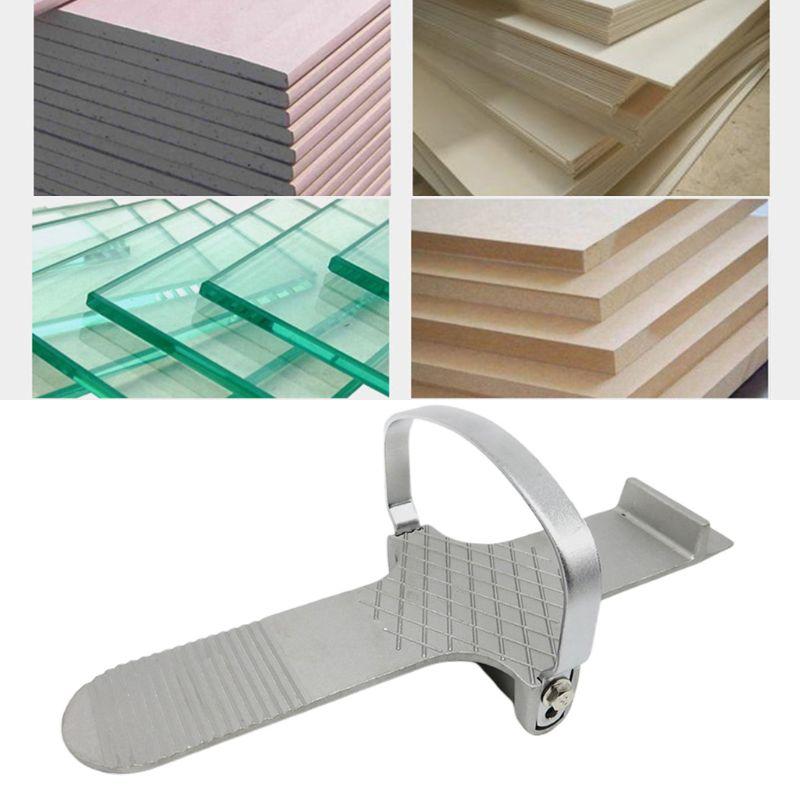 Aluminium Door Board Foot Lifter Drywall Durable Anti-slip Plaster Sheet Operated Fitting Tool For Repairing