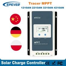 EPever Solar Charge Controller MPPT 40A 30A 20A  Blacklight LCD Solar Regulator 12V 24V Auto Tracer1210AN 2210AN 3210AN 4210AN