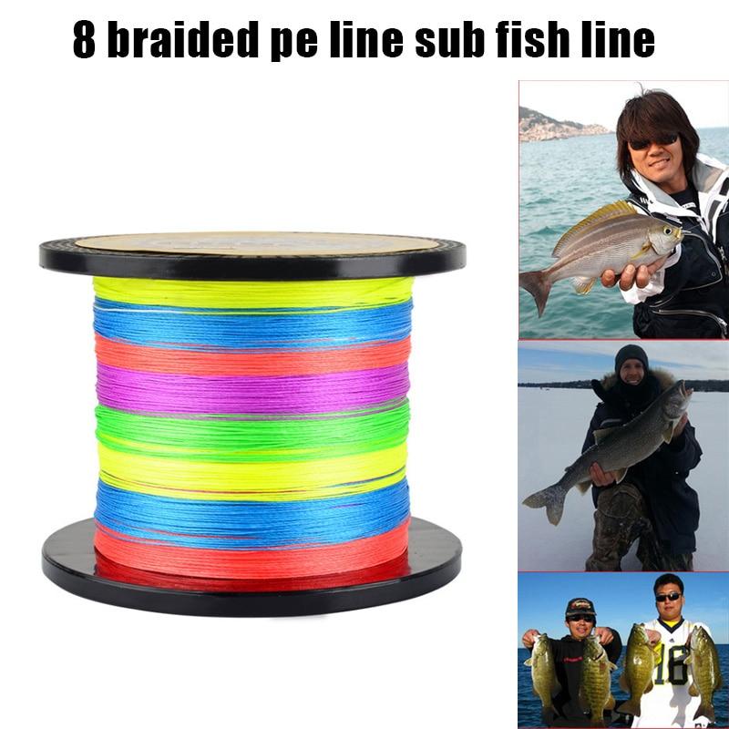 pe tranca linha de pesca forte 8 fios duravel portatil tecer equipamento acessorios bhd2