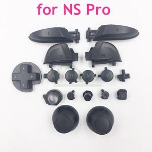 Image 1 - Links Rechts LR ZL ZR ABXY knoppen set thumbstick joystick cap vervanging voor Nintend Schakelaar Pro voor NS Pro controller