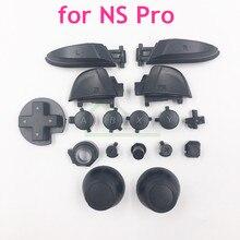 Sol sağ LR ZL ZR ABXY düğmeler seti thumbstick joystick kapağı değiştirme nintendo anahtarı Pro NS Pro denetleyici