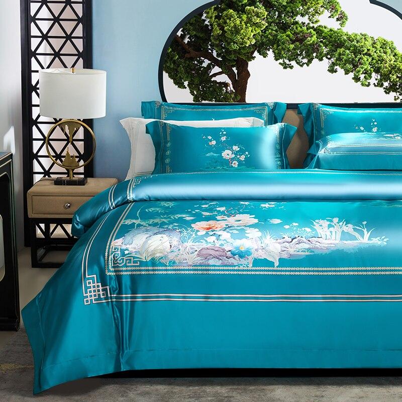 e confortável jogo de cama, capa de