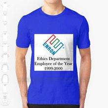 Enron – t-shirt noir pour homme, Streetwear, humoristique, avec département d'ethologie, pour Lehman frères