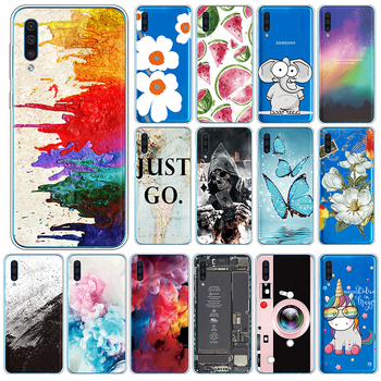 Cute Case For Samsung Galaxy A50 A30s A50s Silicone Cover For SamsungGalaxy A 50 A 30s A 50s 6.4 Phone Cases TPU Fundas Coque image