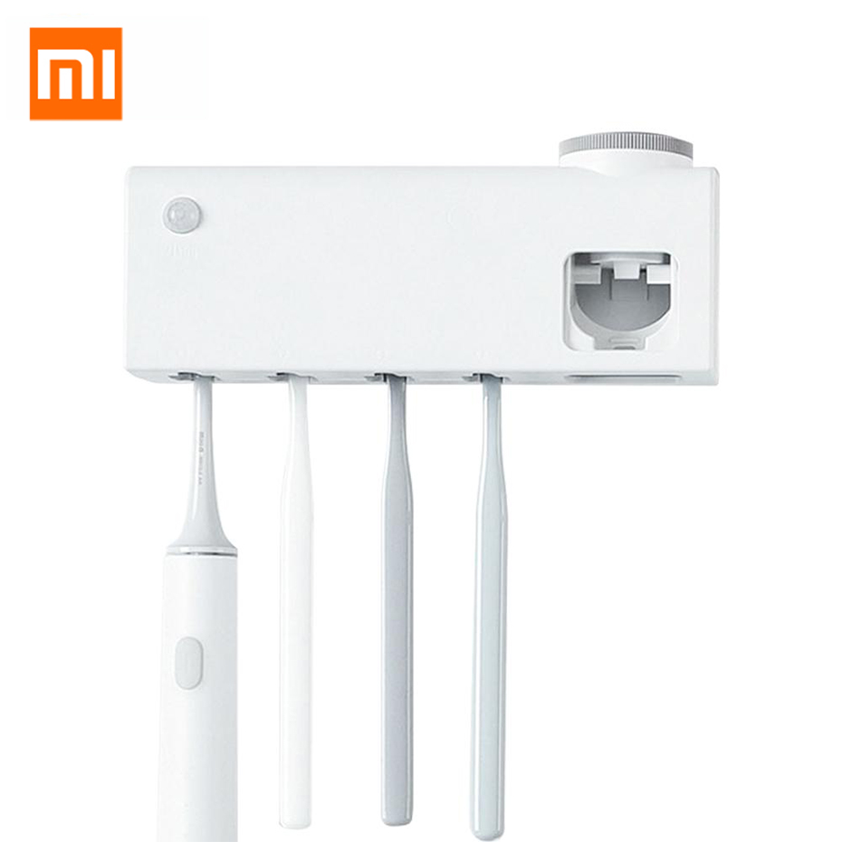 Xiaomi Dr.Meng Smart Disinfection Toothbrush Holder Body Sensor Anti-Bacteria UVC Light Disinfectant USB rechargeable image