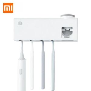 Xiaomi Dr.Meng cepillo de dientes de desinfección inteligente titular cuerpo Sensor Anti-bacterias UVC luz desinfectante USB recargable